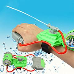 abordables Juguetes de agua-Mini Wrist Squirt Water Gun Aspersores Tema Playa Alivio del estrés y la ansiedad Interacción padre-hijo Carcasa de plástico Chico Chica Juguet Regalo 1 pcs