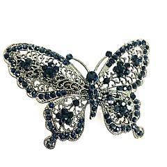 Недорогие Женские украшения-Жен. Простой / Элегантный стиль Заколка - С бабочками Сплав, Однотонный