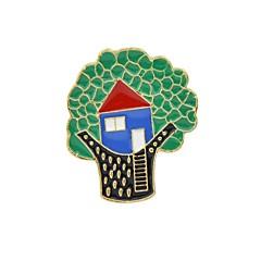 お買い得  ブローチ-ブローチ  -  命の木 ベーシック, ファッション ブローチ グリーン 用途 日常 / デート