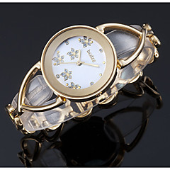 お買い得  レディース腕時計-ASJ 女性用 クォーツ リストウォッチ 日本産 カジュアルウォッチ 合金 バンド ぜいたく Elegant シルバー ゴールド ローズゴールド