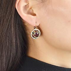 abordables Bijoux pour Femme-Tourmaline synthétique Boucles d'oreille goutte - Mode Noir / Rouge / Vert Pour Quotidien Rendez-vous