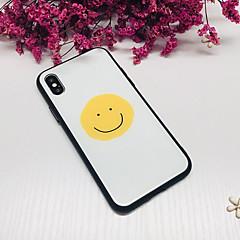 Недорогие Кейсы для iPhone 6-Кейс для Назначение Apple iPhone X iPhone 8 Защита от удара Кейс на заднюю панель Геометрический рисунок Твердый Закаленное стекло для