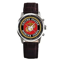 preiswerte Herrenuhren-Herrn Armbanduhr Chinesisch Chronograph PU Band Elegant Schwarz / Weiß / Rosa / Edelstahl