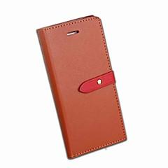 Недорогие Чехлы и кейсы для Xiaomi-Кейс для Назначение Xiaomi Redmi 5 Redmi 5 Plus Бумажник для карт Кошелек со стендом Флип Чехол Однотонный Твердый Кожа PU для Xiaomi