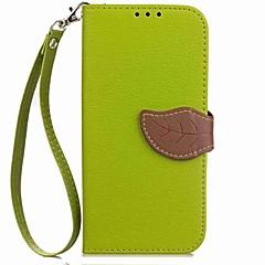 Недорогие Чехлы и кейсы для Sony-Кейс для Назначение Sony Xperia XA2 Xperia XA2 Ultra Бумажник для карт Кошелек Флип Магнитный Рельефный Чехол Растения Твердый Кожа PU для