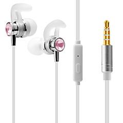 billige Headset og hovedtelefoner-J1 I øret Audio Indgang Hovedtelefoner Dynamisk Aluminum Alloy Sport & Fitness øretelefon Headset