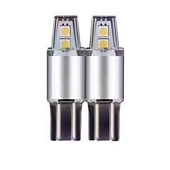 お買い得  自動車用LED電球-10個無極性定電流icドライバt10 w5w車幅ライト6000k