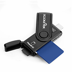 お買い得  メモリカード-Rocketek MicroSD / MicroSDHC / MicroSDXC / TF SD / SDHC / SDXC OTG タイプC カード読み取り装置 Andriod携帯電話用