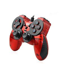 お買い得  PC ゲーム用アクセサリー-We-816 ケーブル ゲームコントローラ 用途 PC バイブレーション ゲームコントローラ ABS 1pcs 単位 USB 2.0