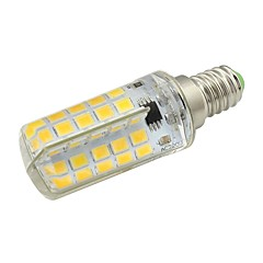 cheap LED Bulbs-1pc 5W 450lm E14 LED Corn Lights T 80 LED Beads SMD 5730 Warm White / Cold White 220-240V