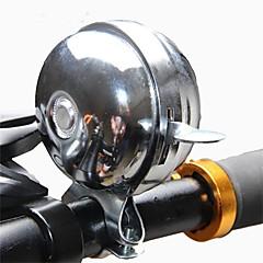 お買い得  ベル&ミラー&ロック-自転車用ベル バイク / 折り畳み自転車 / 固定ギア スチール シルバー