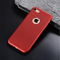 Недорогие Кейсы для iPhone 6 Plus-Кейс для Назначение Apple iPhone 8 Plus / iPhone 6 Матовое Кейс на заднюю панель Однотонный Твердый ПК для iPhone X / iPhone 8 Pluss /
