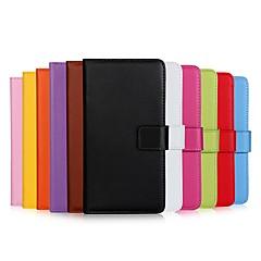 abordables Galaxy S3 Mini Carcasas / Fundas-Funda Para Samsung Galaxy S9 Plus / S9 Cartera / Soporte de Coche / Flip Funda de Cuerpo Entero Un Color Dura Cuero de PU para S9 / S9 Plus / S8 Plus