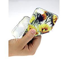 Недорогие Кейсы для iPhone-Кейс для Назначение Apple iPhone X / iPhone 7 Ультратонкий / С узором / Милый Кейс на заднюю панель Пейзаж Мягкий ТПУ для iPhone X /