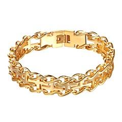 preiswerte Armbänder-Ketten- & Glieder-Armbänder - Kreuz Modisch Armbänder Gold / Schwarz / Silber Für Alltag