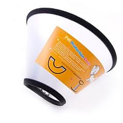 お買い得  犬用首輪/リード/ハーネス-犬用 / 猫用 / ペット用 カラー ウォーキング / サイズが調整できます。 / 携帯用 ソリッド / 水玉 / 波点 プラスチック / ゴム ブラック / ホワイト