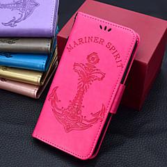 Недорогие Кейсы для iPhone X-Кейс для Назначение Apple iPhone X / iPhone 8 Plus Бумажник для карт / Кошелек / Флип Чехол Однотонный / Слова / выражения /