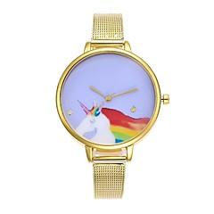 お買い得  レディース腕時計-女性用 中国 クロノグラフ付き ステンレス バンド ファッション シルバー / ゴールド / ローズゴールド