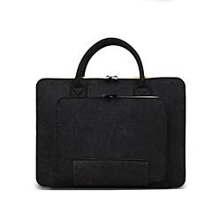"""preiswerte Laptop Taschen-Wollfilz Volltonfarbe Handtaschen 14 """"Laptop / iPad"""