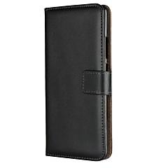 Недорогие Чехлы и кейсы для Nokia-Кейс для Назначение Nokia Nokia 7 Plus Бумажник для карт / со стендом / Флип Чехол Однотонный Твердый Кожа PU для Nokia 7 Plus