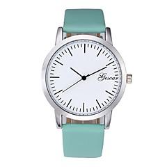 preiswerte Herrenuhren-Herrn Armbanduhr Chinesisch Chronograph / Kreativ / Armbanduhren für den Alltag PU Band Modisch Schwarz / Weiß