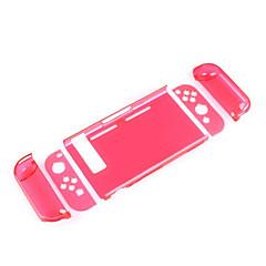 Недорогие Аксессуары для Nintendo Switch-SWITCH Беспроводное Защитная пленка Назначение Nintendo Переключатель ,  Защитная пленка ПК 1 pcs Ед. изм