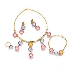 abordables Alta Joyería-Mujer Conjunto de joyas - Chapado en Oro Bohemio, Moda, Boho Incluir Dorado Para Fiesta / Regalo