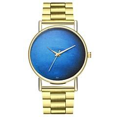 preiswerte Damenuhren-Herrn / Damen Modeuhr Chinesisch Chronograph Edelstahl Band Modisch Gold