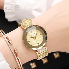 preiswerte Damenuhren-Damen Armbanduhr Quartz 30 m Neues Design Legierung Band Analog-Digital Luxus Modisch Silber / Gold / Rotgold - Gold Silber Purpur Zwei jahr Batterielebensdauer
