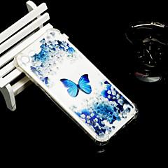お買い得  iPhone 5S/SE ケース-ケース 用途 Apple iPhone X iPhone 8 耐衝撃 半透明 バックカバー バタフライ ソフト TPU のために iPhone X iPhone 8 Plus iPhone 8 iPhone 7 Plus iPhone 7 iPhone 6s Plus