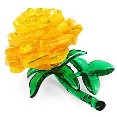 abordables Niños Puzzles-Puzzles 3D / Puzzles de Cristal Tema Floral Juguetes de oficina Acryic / Poliéster 44pcs Adultos / Intermedio Todo Regalo