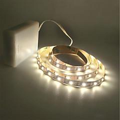 お買い得  LED ストリングライト-ZDM® 2m ストリングライト 300 LED 2835 SMD 温白色 / クールホワイト カット可能 / 車に最適 / ノンテープ・タイプ 単3乾電池 1個