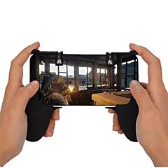 お買い得  ビデオゲーム用アクセサリー-ワイヤレス ゲームコントローラアクセサリキット 用途 Android / iOS パータブル ゲームコントローラアクセサリキット ABS 1pcs 単位