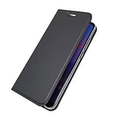 お買い得  Huawei Pシリーズケース/ カバー-ケース 用途 Huawei P20 lite / P20 カードホルダー / ウォレット / フリップ フルボディーケース ソリッド ハード PUレザー のために Huawei P20 lite / Huawei P20 / P10 Plus