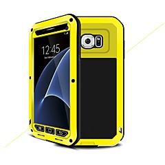 abordables Galaxy S6 Carcasas / Fundas-Funda Para Samsung Galaxy S7 Antigolpes / Resistente al Agua / Armadura Funda de Cuerpo Entero Armadura Dura Metal para S7 / S6 / S5