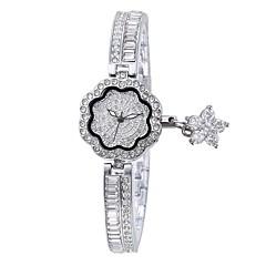 preiswerte Damenuhren-Damen Armband-Uhr Japanisch Quartz Wasserdicht Legierung Band Analog Charme Silber / Gold / Rotgold - Gold Silber Rotgold