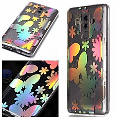 お買い得  Huawei Pシリーズケース/ カバー-ケース 用途 Huawei P20 / P20 lite パターン バックカバー カラーグラデーション ソフト TPU のために Huawei P20 / Huawei P20 lite
