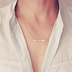 preiswerte Halsketten-Damen Ketten  -  Klassisch, Modisch Gold, Silber 45 cm Modische Halsketten 1pc Für Alltag, Arbeit