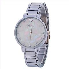 お買い得  レディース腕時計-Xu™ 女性用 ドレスウォッチ / リストウォッチ 中国 クリエイティブ / カジュアルウォッチ / 大きめ文字盤 合金 バンド Heart Shape / ファッション シルバー / ゴールド / ローズゴールド