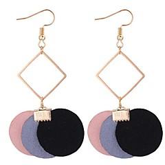 preiswerte Ohrringe-Damen Lang Tropfen-Ohrringe - Retro, Modisch Grau / Rot / Rosa Für Schultaschen / Verabredung