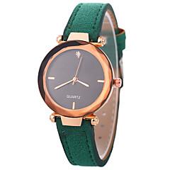 お買い得  レディース腕時計-Xu™ 女性用 ドレスウォッチ / リストウォッチ 中国 クリエイティブ / カジュアルウォッチ / 模造ダイヤモンド PU バンド ファッション / エレガント ブラック / レッド / ブラウン