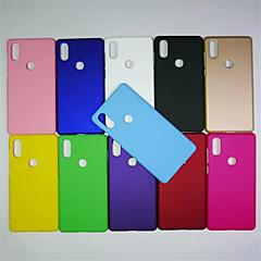 Недорогие Чехлы и кейсы для Xiaomi-Кейс для Назначение Xiaomi Mi 8 / Mi 6X Матовое Кейс на заднюю панель Однотонный Твердый ПК для Xiaomi Mi Mix 2 / Xiaomi Mi Mix 2S / Xiaomi Mi 8