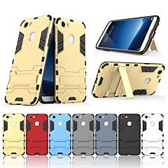 お買い得  その他のケース-ケース 用途 OPPO F5 / F3 スタンド付き バックカバー ソリッド ハード PC のために Oppo F5 / Oppo F3