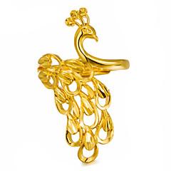 preiswerte Ringe-Damen Skulptur Statement-Ring - vergoldet Modisch Verstellbar Gold Für Party / Geschenk