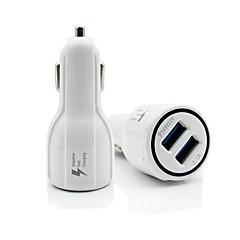 お買い得  カーアクセサリー-車載 シングル / 車のUSB充電ソケット USBポート×2 for 12 V