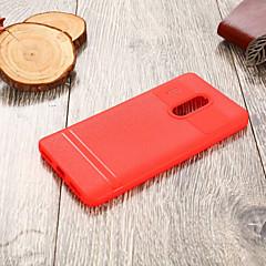 Недорогие Чехлы и кейсы для Xiaomi-Кейс для Назначение Xiaomi Redmi Note 4 Ультратонкий Кейс на заднюю панель Однотонный Мягкий ТПУ для Xiaomi Redmi Note 4