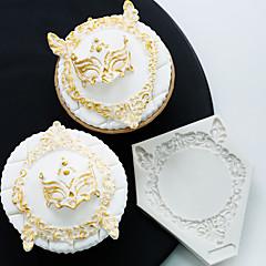 お買い得  ベイキング用品&ガジェット-ベークツール シリコーン ホリデー / 3Dカトゥーン / 創造的 ケーキ / チョコレート / 調理器具のための ケーキ型 1個