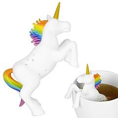 preiswerte -Silikon Niedlich / Tee Unicorn 1pc Filter / Teesieb