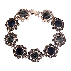 preiswerte Armbänder-Damen Lang Armband - Blume Europäisch, Modisch, Elegant Armbänder Dunkelblau / Grau / Purpur Für Party