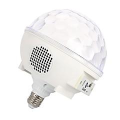 preiswerte LED-Birnen-YouOKLight 1pc 6 W - E26 / E27 Smart LED Glühlampen 7 LED-Perlen SMD 5050 Bluetooth / Dekorativ / Audio Lautsprecher RGB 85-265 V